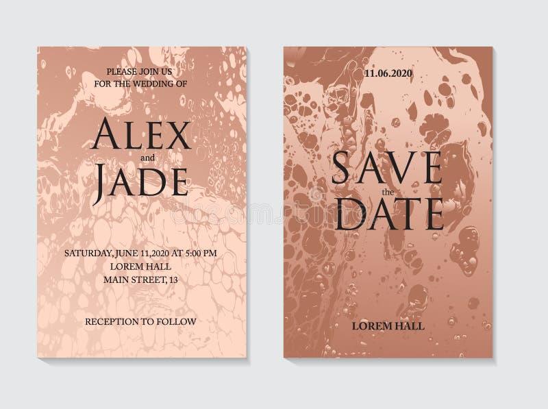 Marmeren vloeibare stroom in brons beige kleuren Vloeibaar ontwerp voor achtergrond, presentatie, dekking, krantekop, ontwerpersa vector illustratie