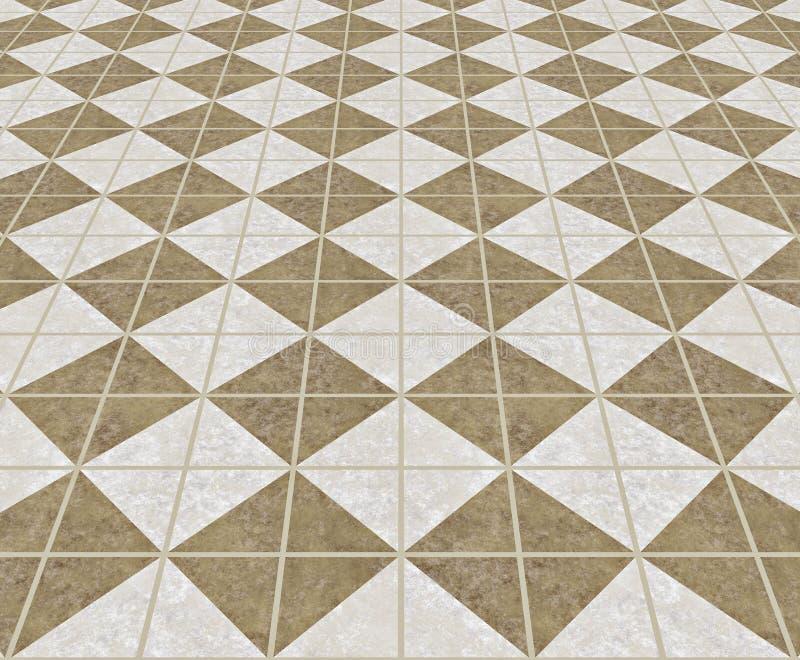Marmeren vloer royalty-vrije illustratie