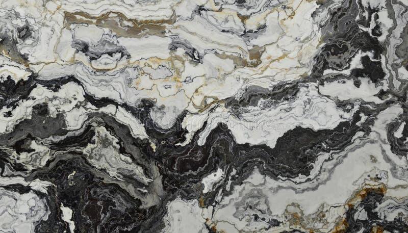 Marmo in bianco e nero illustrazione vettoriale