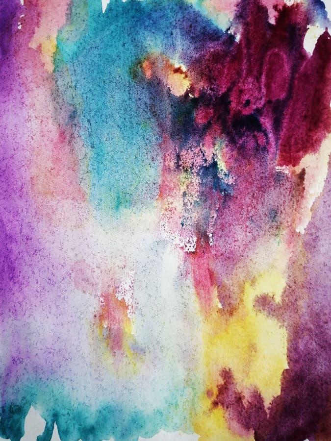 Marmo dipinto a mano, trama spaziale per manifesti, carte, inviti, striscioni, sfondi, siti web Pitture acriliche Creativo fotografia stock
