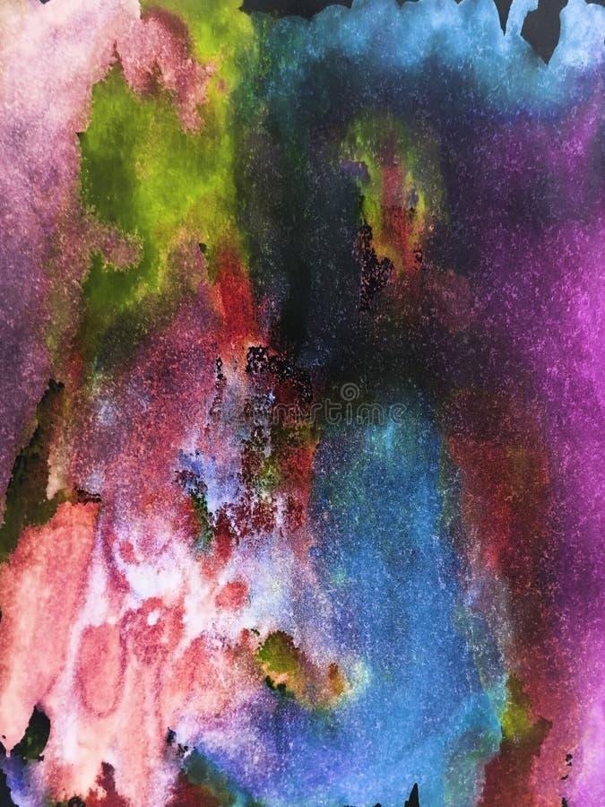 Marmo dipinto a mano, trama spaziale per manifesti, carte, inviti, striscioni, sfondi, siti web Pitture acriliche Creativo fotografie stock