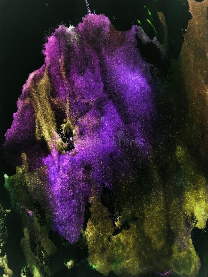 Marmo dipinto a mano, trama spaziale per manifesti, carte, inviti, striscioni, sfondi, siti web Pitture acriliche Creativo fotografie stock libere da diritti