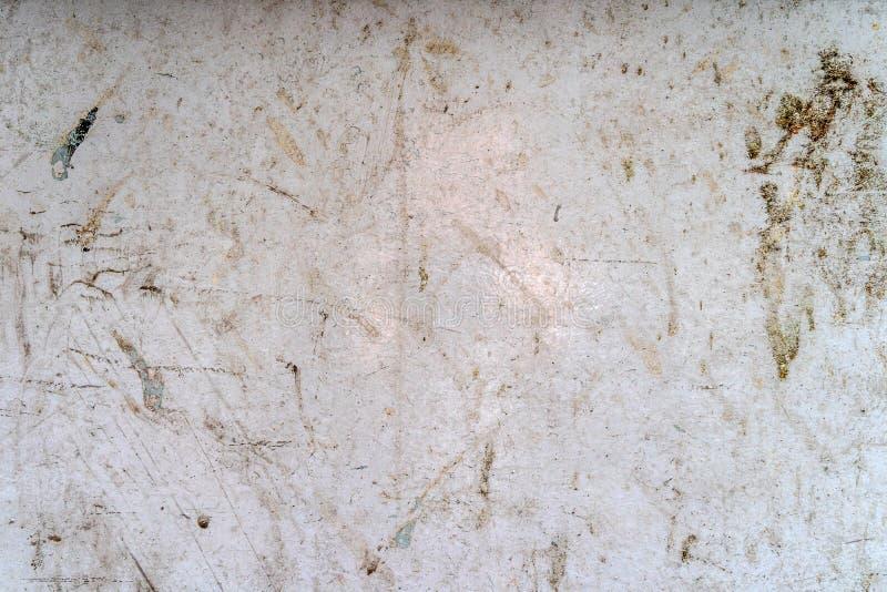 Marmo grungy e macchiato bianco con i modelli - struttura/fondo di alta qualità immagini stock