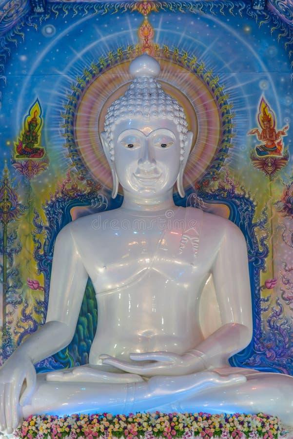 Marmor-Buddha lizenzfreie stockbilder