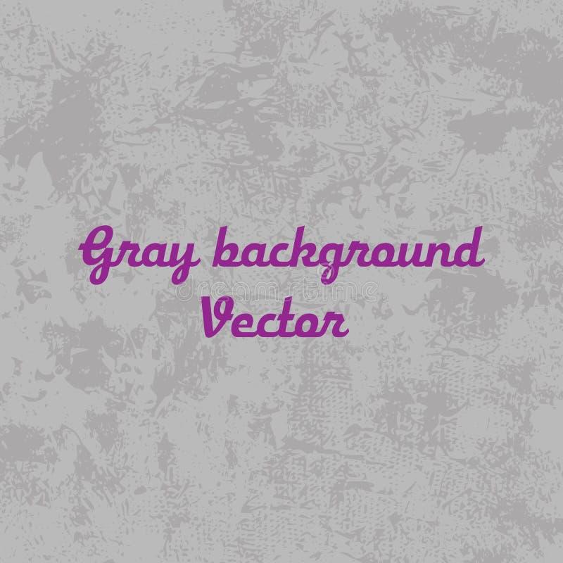 Marmor mönstrad texturbakgrund Vektorvitgrå färger för des royaltyfri illustrationer