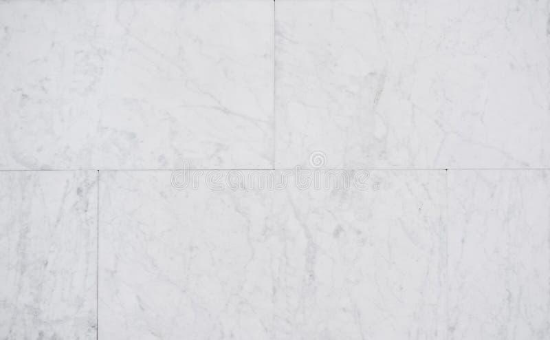 Marmor mönstrad texturbakgrund Vita lyxiga marmor yttersida, marmortegelplattor arkivfoto