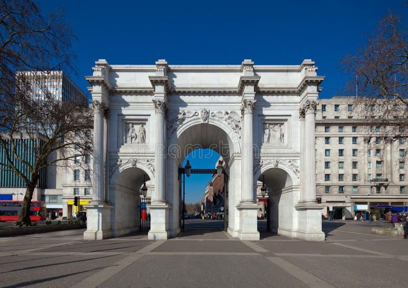 Marmorbåge, London arkivbilder