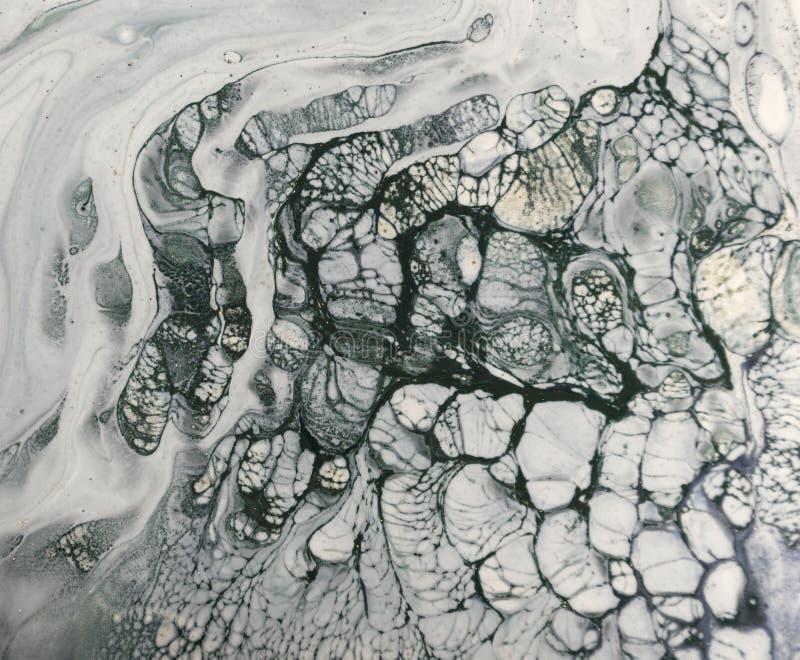 Marmorbakgrund med guld- pulver vektor illustrationer