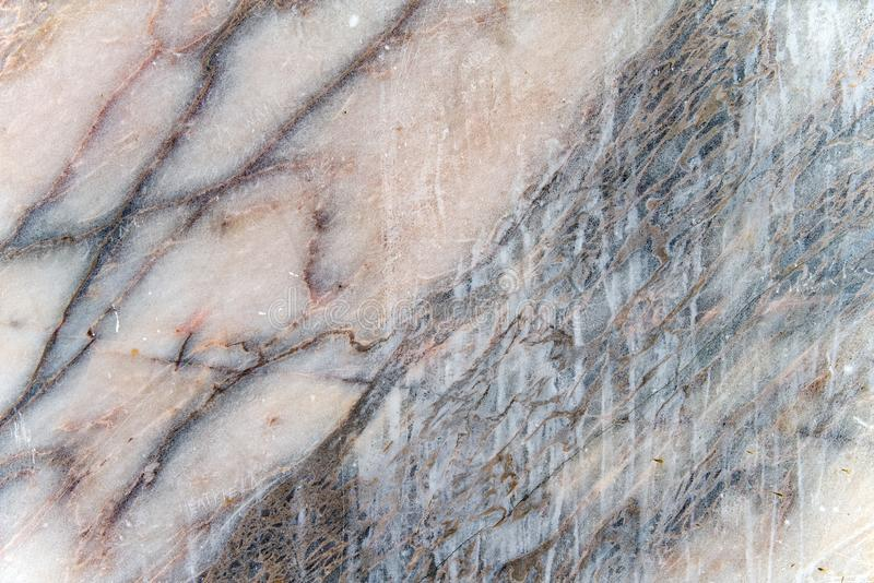 Marmorbeschaffenheit, ausführliche Struktur des Marmors im natürlichen Muster stockfoto