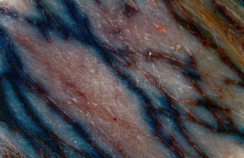 Marmorbeschaffenheit, ausführliche Struktur des Marmors im natürlichen Muster stockbild