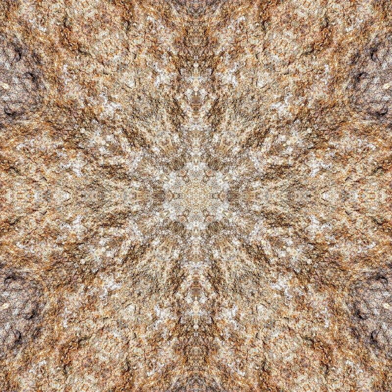 Marmorbeschaffenheitsgranit-Kaleidoskopzusammenfassung Felsen lizenzfreie abbildung