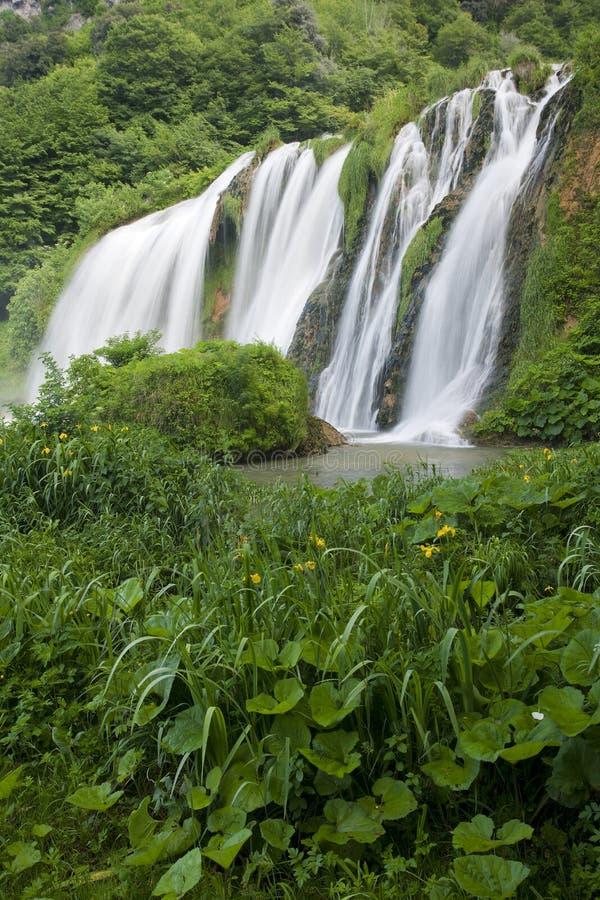 Marmore's Falls stock photo