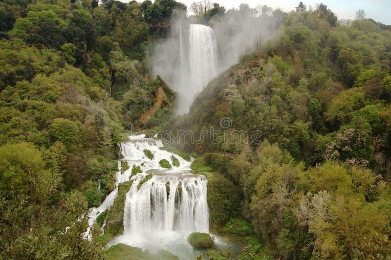marmore wodospadu zdjęcie royalty free