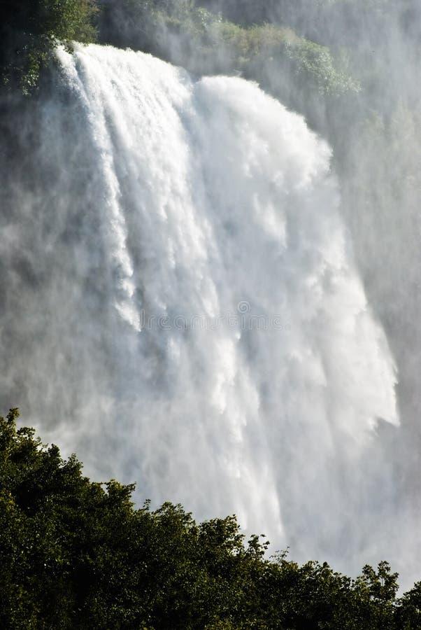 marmore wodospadu zdjęcia stock