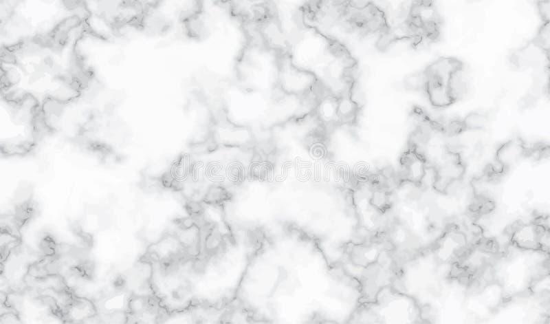 Marmorera försilvrar sömlös bakgrund för textur Lyxig modell för vit abstrakt begreppsilver Vätskevätska som marmorerar effekt fö vektor illustrationer