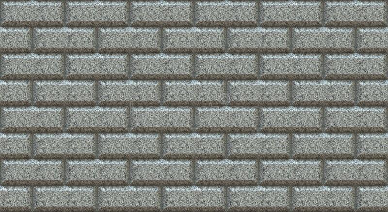 Marmorera rektanglar för tegelstenväggen med den chamfered kanten tom bakgrund Tappning g?r envist motst?nd Rumdesigninre royaltyfri illustrationer