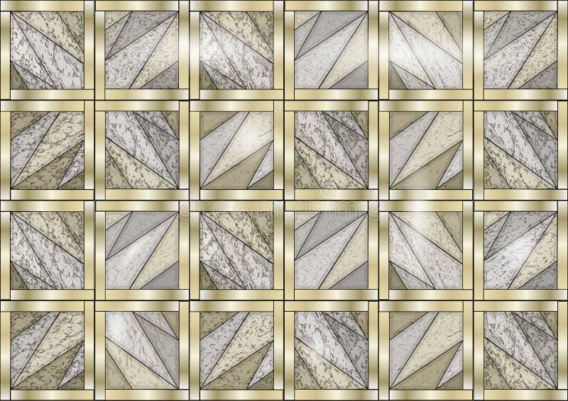 Marmorgolv vektor illustrationer