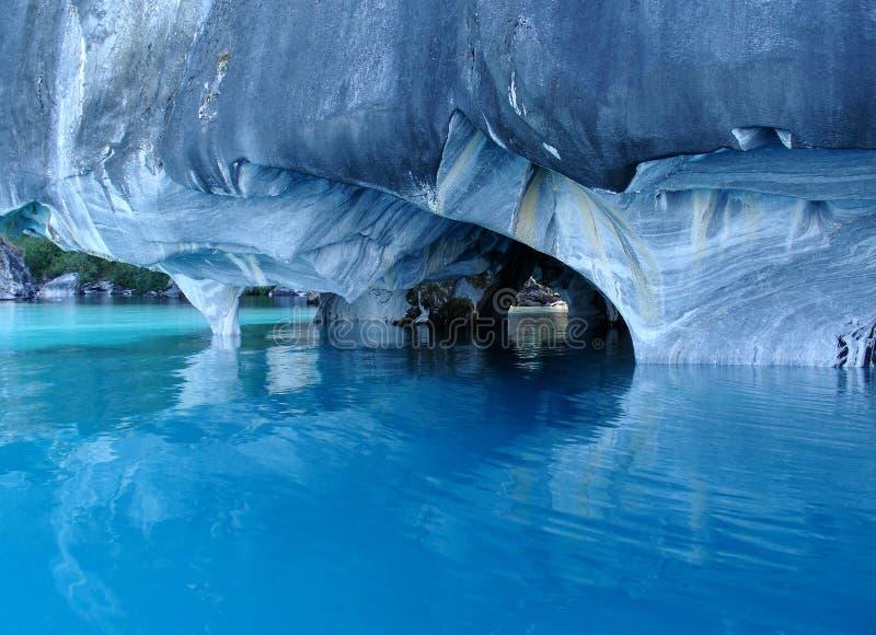 Marmorhöhlen. lizenzfreies stockbild