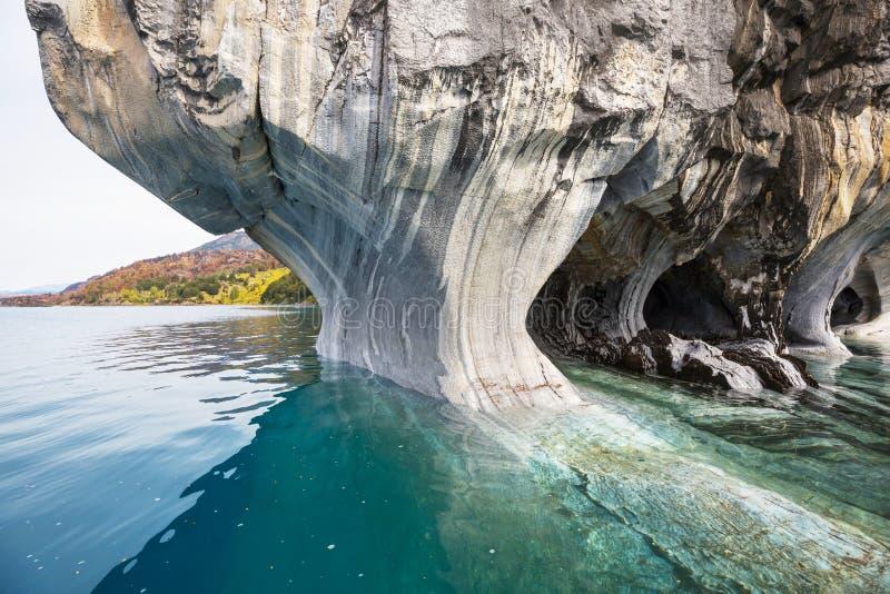 Marmorhöhlen lizenzfreies stockbild