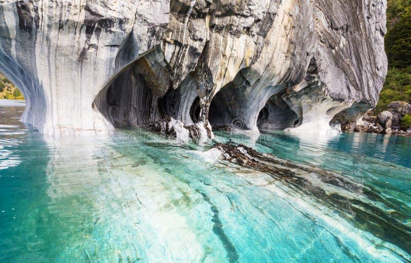 Marmorhöhlen lizenzfreie stockfotografie
