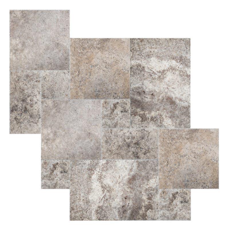 Marmormusterset stockbilder