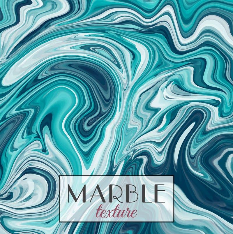 marmorn Kann als Hintergrund verwendet werden Vektorabstrakter bunter Hintergrund Malen Sie Spritzen stock abbildung