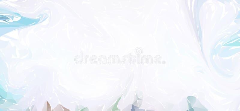 marmorn Weiße Marmorbeschaffenheit Malen Sie Spritzen Bunte Flüssigkeit Abstrakte Flüssigkeit farbiger Hintergrund lizenzfreie abbildung