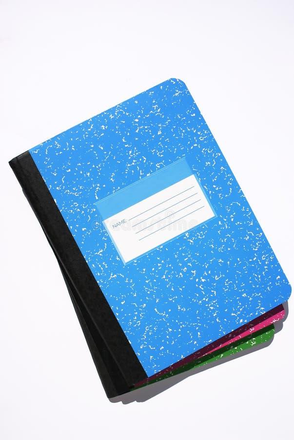 Download Marmornotizbücher stockfoto. Bild von schule, jugend, kategorie - 27548
