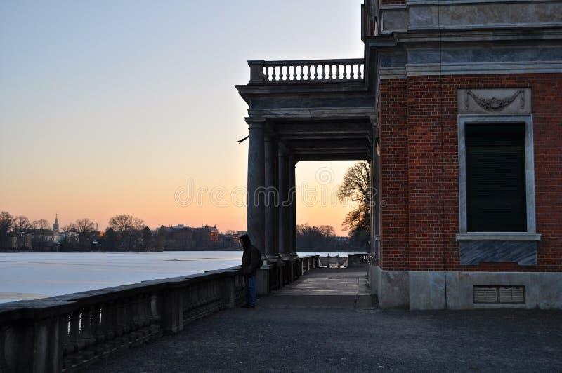 Marmorpalais, Potsdam, Germania fotografia stock libera da diritti