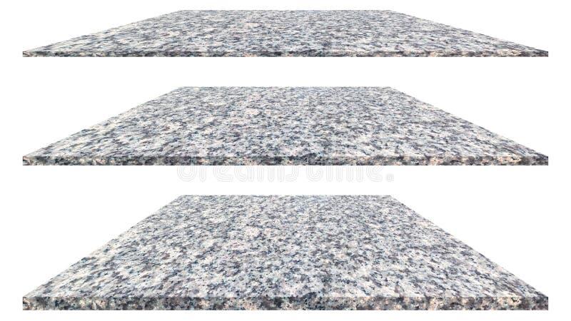 Marmorplatta som isoleras p? vit bakgrund f?r inre yttre garnering och industriell konstruktionsdesign royaltyfri fotografi