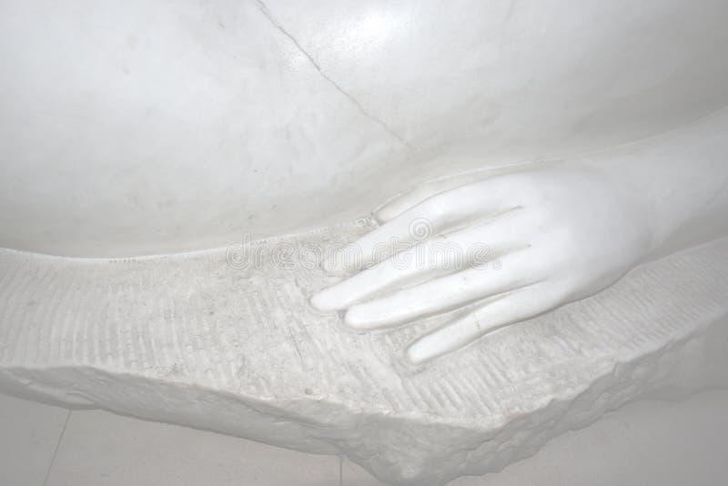 Marmorstatue 'Vesna ' stockbild