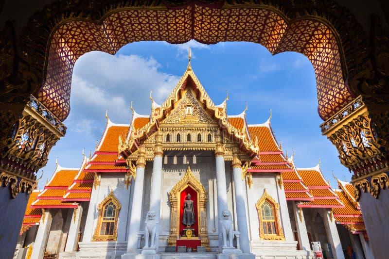 Marmortempel, Bangkok, Thailand lizenzfreie stockfotografie