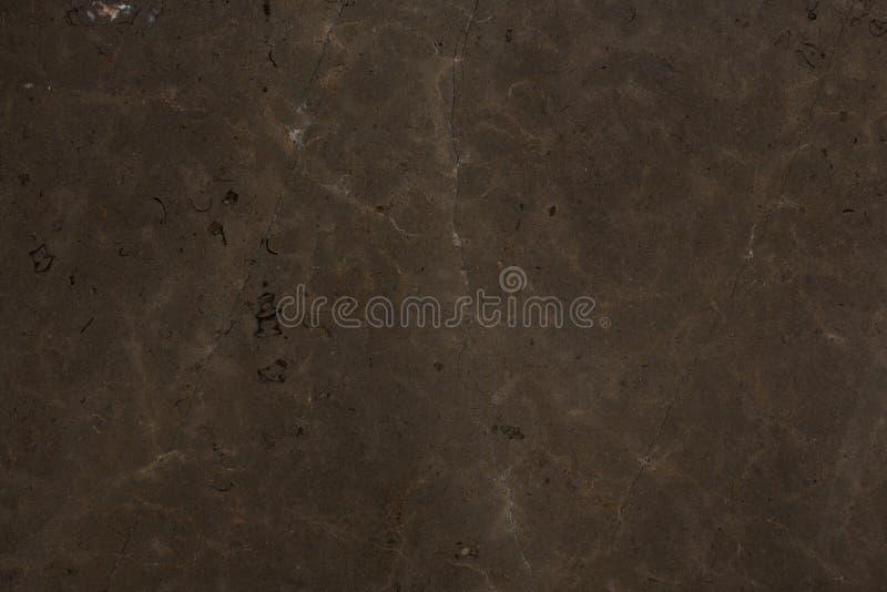 Marmortextur för mörk brunt Läderbakgrundsnärbild royaltyfria foton