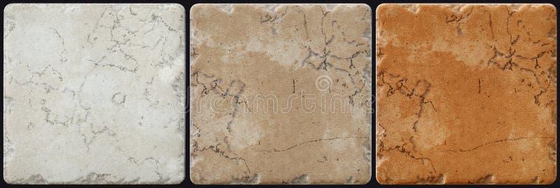 Marmur dekorować tło płytki, mozaika obrazy stock