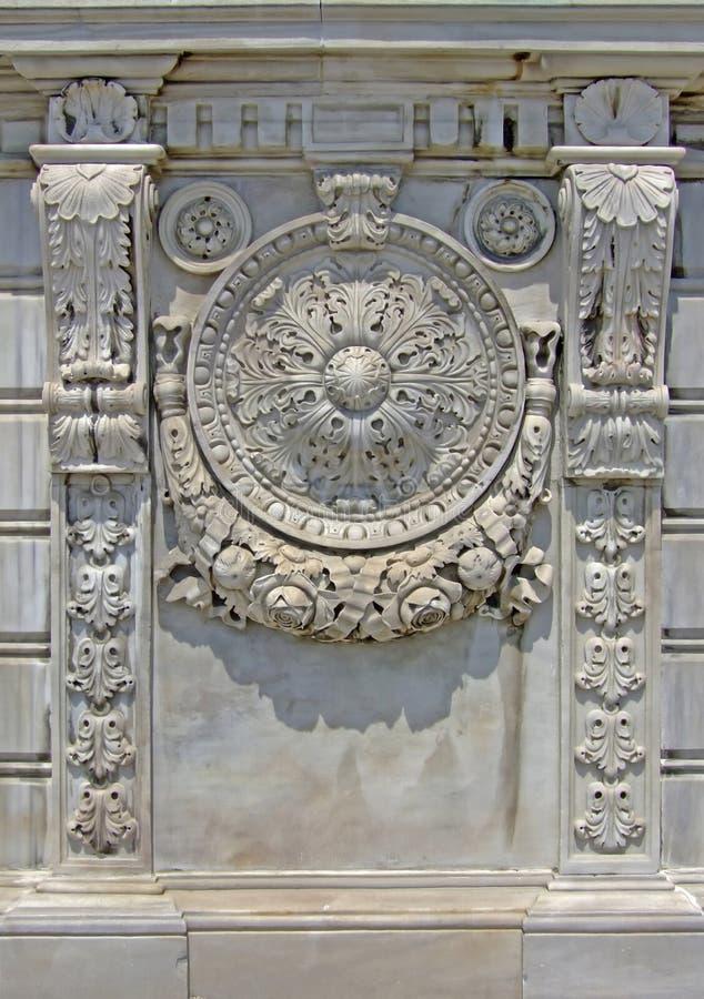 marmurowa ściana zdjęcie royalty free