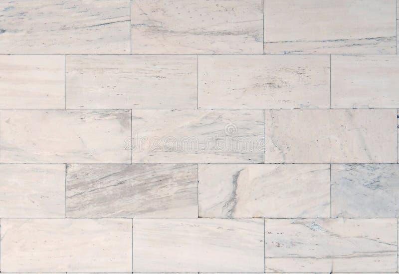 Marmurowa ściana z cegieł tekstury tekstura fotografia royalty free