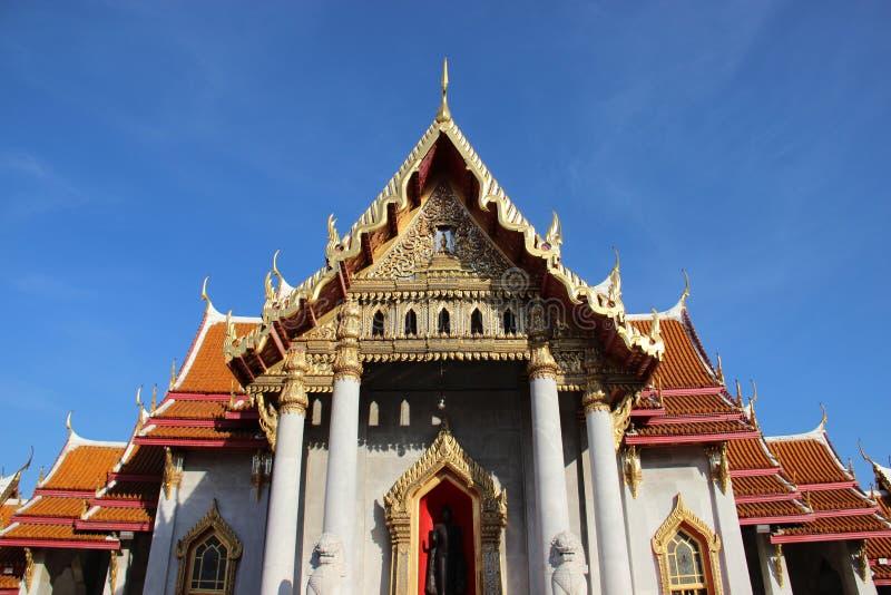 Marmurowa świątynia Z światłem słonecznym fotografia royalty free