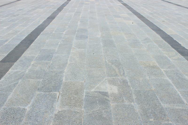 Marmurowa podłoga jako nożna ścieżka obraz royalty free