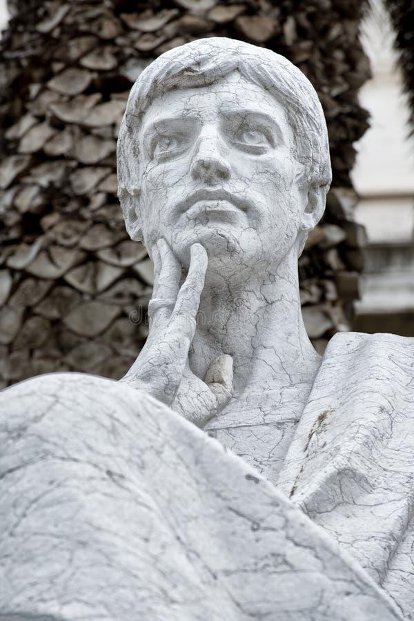 Marmurowa rzymska statua zdjęcie stock