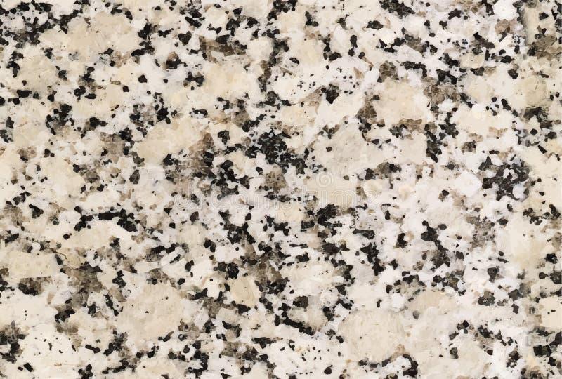 Marmurowej tekstury bezszwowy tło moss skały kamienia konsystencja Abstrakcjonistyczny naturalny granitowy tło wektor szablon dla ilustracji