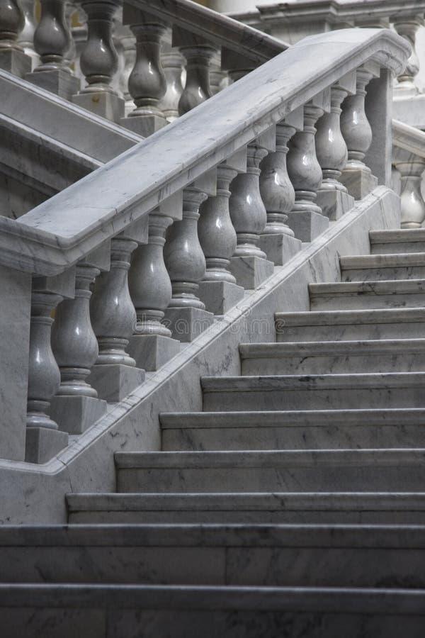 marmurowi schody fotografia royalty free
