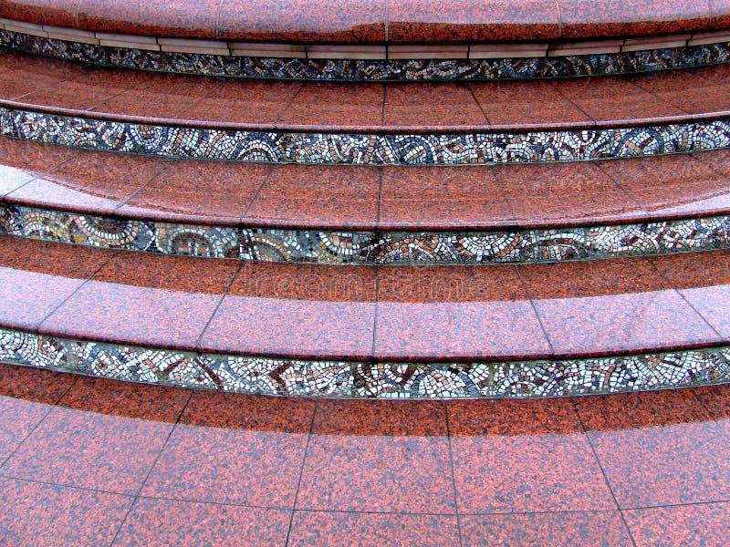 marmurowi schody. obrazy royalty free
