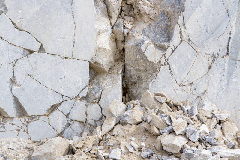 Marmurowy łup, bielu marmur obrazy stock