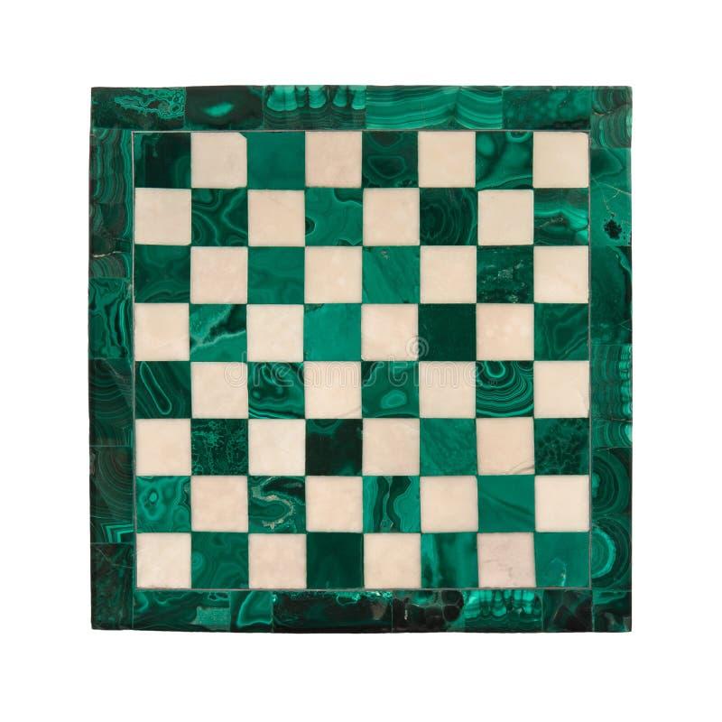 Marmurowy chessboard obrazy royalty free