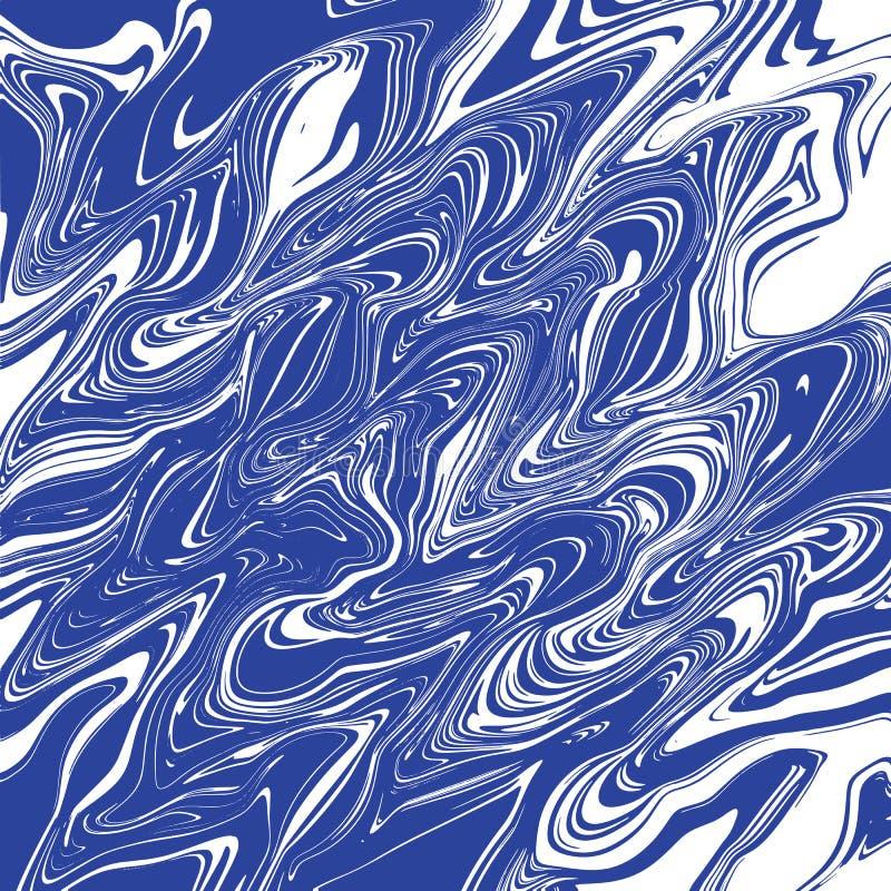Marmurowy colourful tło ilustracja wektor