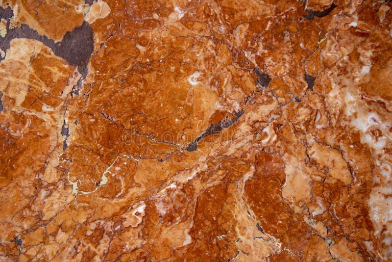 Marmurowy kamienny tekstury tło Ciepła brązu kamienia powierzchnia Jaspisu stołowy szablon Naturalny marmurowy odgórny widok fotografia stock