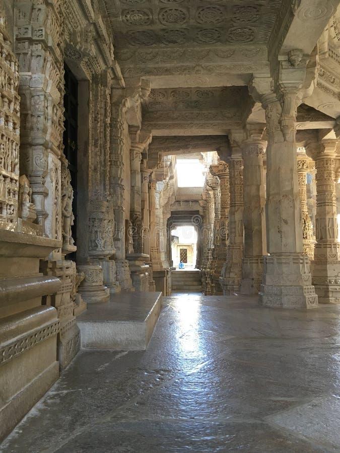 Marmurowy korytarz zdjęcie royalty free