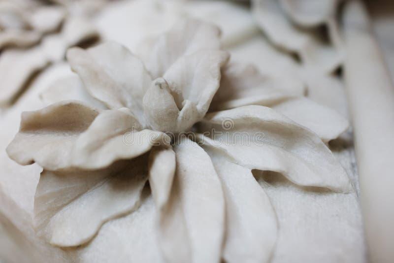 Marmurowy kwiat zdjęcia royalty free