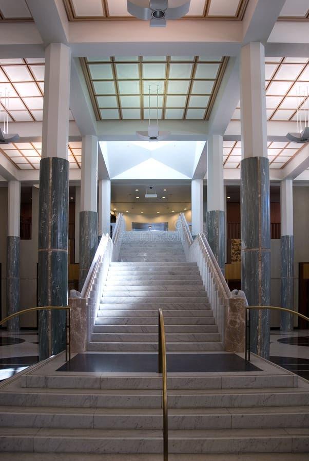 marmurowy schody zdjęcia stock