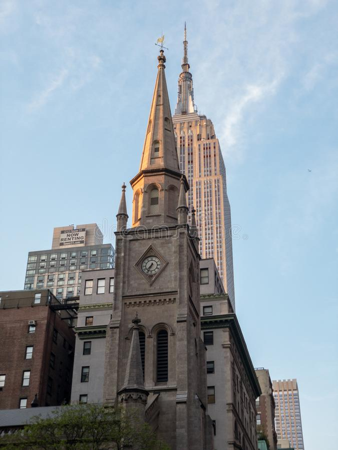 Marmurowy Uczelniany - Miasto Nowy Jork zdjęcie royalty free